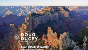 Lean Transformation of Arizona State Government Document cover graphic